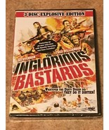 Inglorious Bastards (DVD, 3-Disc Explosive Edition, 1978) NEW/SEALED *RA... - $13.48