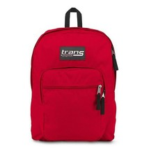 """Trans by JanSport 17"""" Supermax Backpack in Red"""