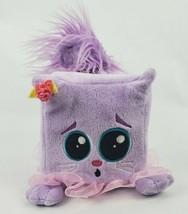 "Gund Squaredy Cats Gigi 4"" Plush Cat Not Squared to Dance Purple Pink Tu... - $20.56"