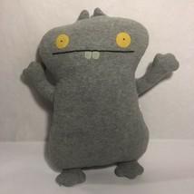 """UglyDoll Babo Plush Grey 12"""" Ugly Doll Stuffed Toy Animal Fleece Gray - $9.99"""