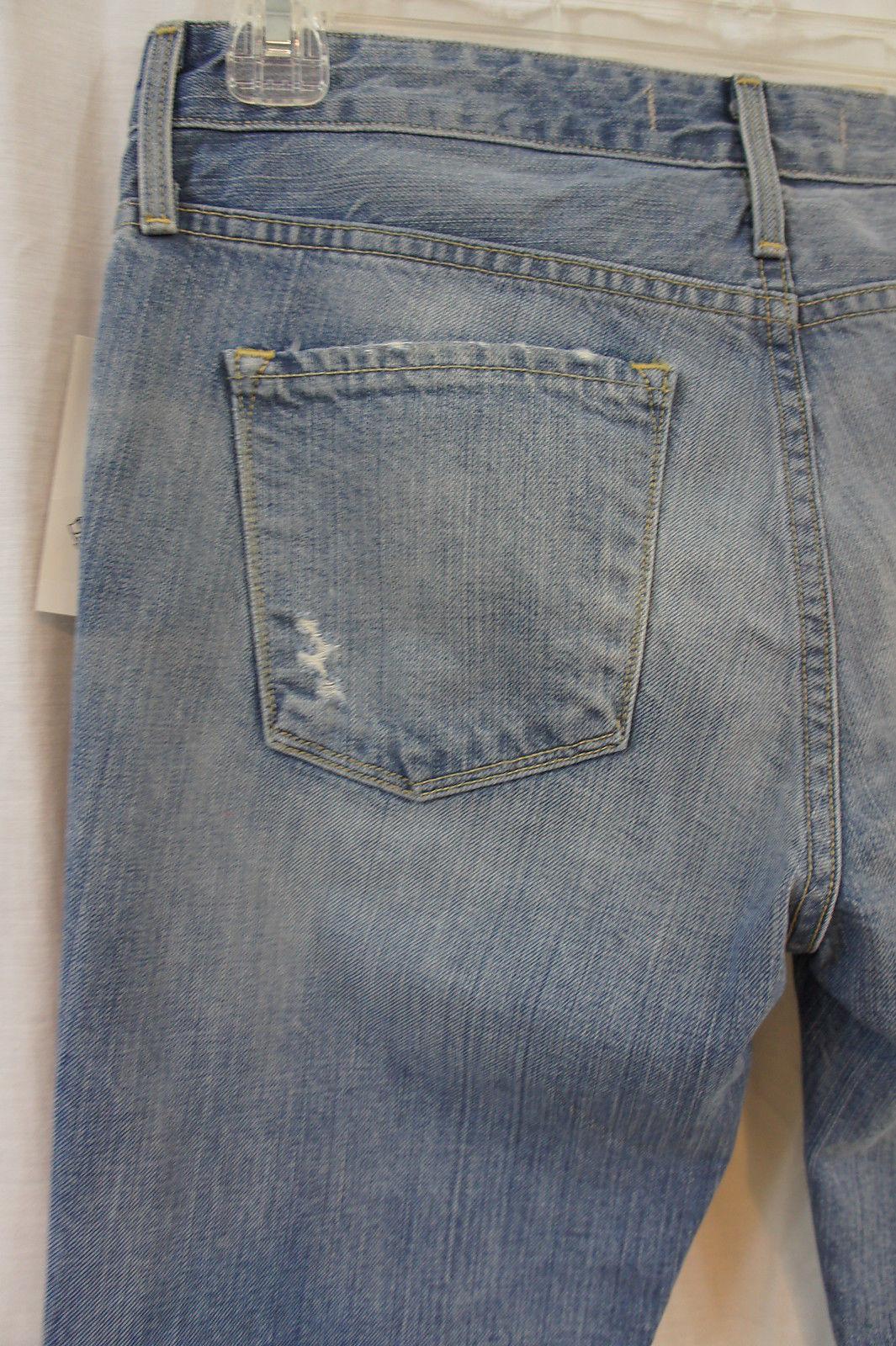 Juicy Jean Couture Sz 27 S Cydell Lavage Relax Étroit Capri Court Décontracté image 7