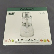 Cuisinart Instruction How-to DVD for 11 & 14 Cup Capacity Food Processor... - $9.70