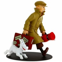 TINTIN AND SNOWY ILS ARRIVENT HOMECOMING RESIN STATUE image 2