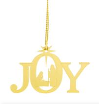 24 pack jOY Brass Nativity Ornament  - $47.47