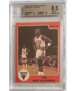1986 Star Michael Jordan #8 Rookie Beckett BGS NM-MT+ (8.5) - $565.07