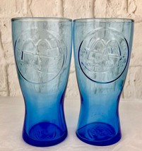 McDonalds Logo Blue 1961 Vintage Glassware Set Of 2 Collectibles - $7.70