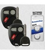 2 For 1999 2000 2001 GMC Sierra 1500 2500 3500 GMC Sonoma Car Remote Fob... - $18.70