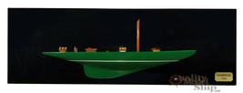 Shamrock Half-hull Sailing Boat Model Wall Picture - $193.05