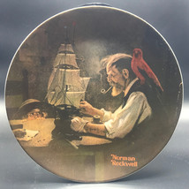 Vtg Knowles Collectible Plate Ship Builder Rockwell Society of America  ... - $22.99