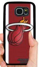 Miami Heat Nba Phone Case For Samsung Note & Galaxy S5 S6 S7 Edge S8 S9 S10 Plus - $11.99