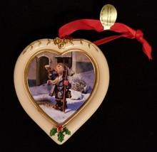 "Hummel Christmas Ornament Danbuey Mint Heart Shaped ""Hear Ye, Hear Ye"" - $8.15"