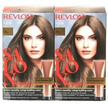 2 Boxes Revlon Salon Quality Color 6 Light Brown Long Lasting Permanent ... - $23.99