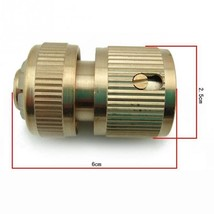 1pcs Pipe connection in the garden Brass Screw reducer for irrigation eq... - $8.99