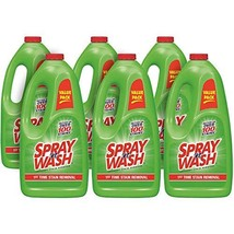 Spray 'n Wash Pre-Treat Laundry Stain Remover Refill, 360 fl oz 6 Bottles x 60 o