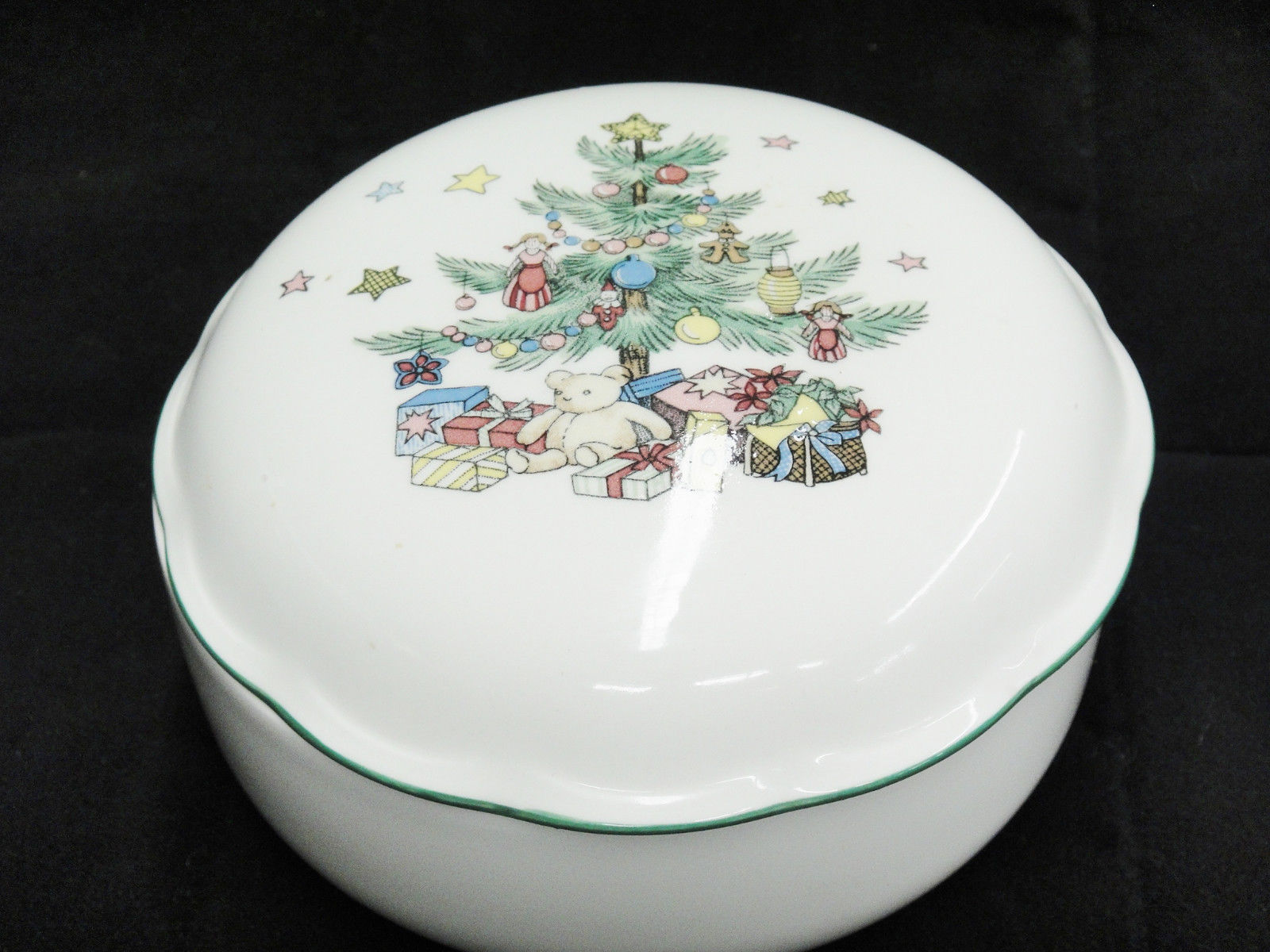 Nikko Christmas Tree Covered Candy Dish and 14 similar items