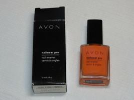 Avon nail Wear Pro Enamel orn Creamsicle 12 ml 0.4 fl oz nail polish mani pedi - $21.61