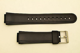 Watch Band STRAP Rubber Black Fit Casio AW-30  AW-33 AW-34 AW-43 EB-3008... - $8.31