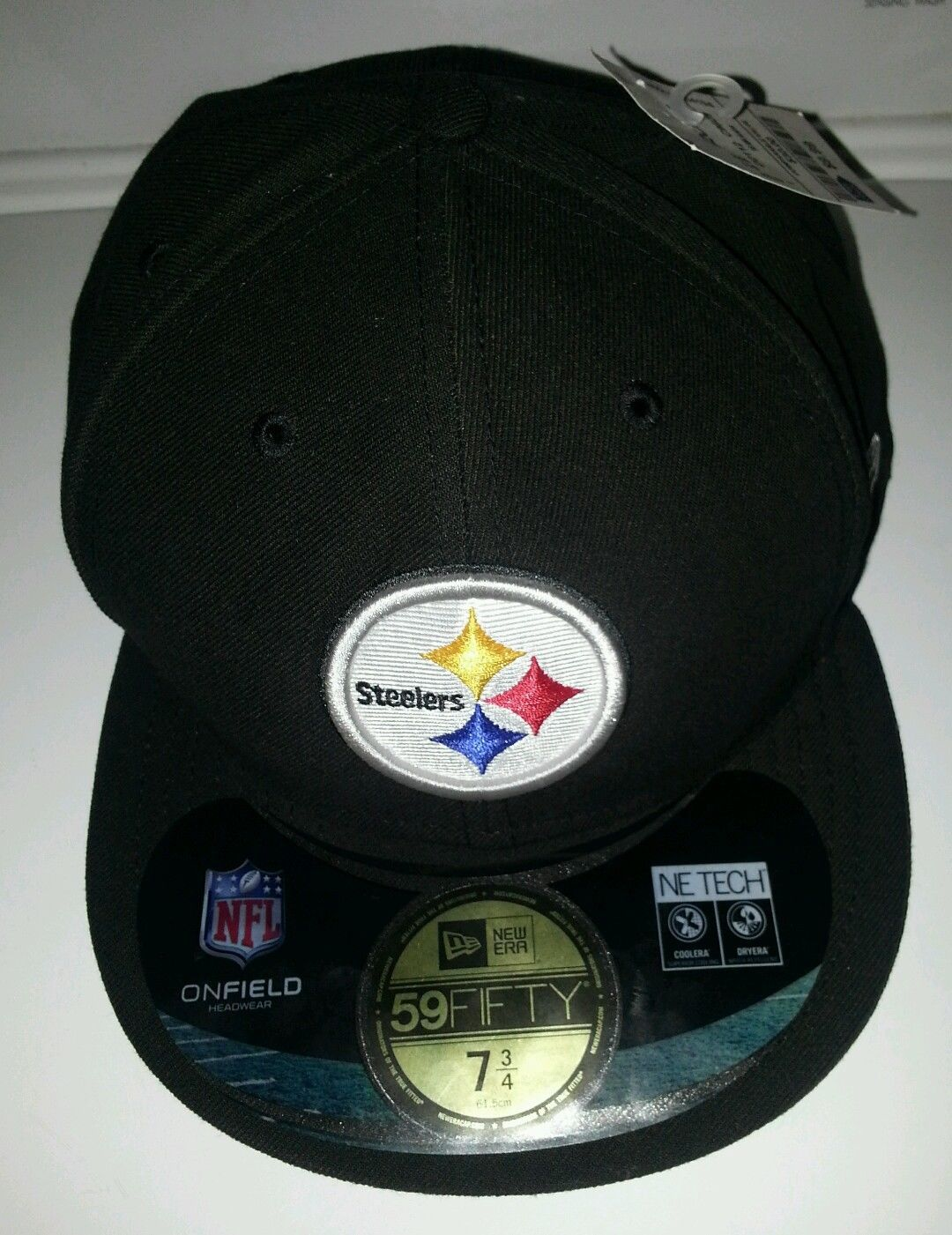 658494b4a Pittsburgh Steelers Fitted Hat Size 7 3/8 and 50 similar items. S l1600