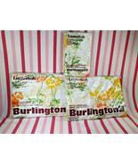 Gorgeous NOS Sealed Lustrosoft Burlington MoD Floral Full Sheet Set +Pil... - $38.00