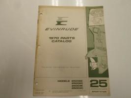 1970 Evinrude 25 hp Sportster Modell 25002E 2C 3E 3C Teile Katalog Manua... - $12.82