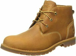 Timberland Mens Larchmont Waterproof Chukka Wheat Nubuck Leather Boots 1... - $182.85