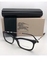 Nuovo Burberry Occhiali da Sole B 2243-Q 3001 51-17 140 Nero con Plaid D... - $300.86
