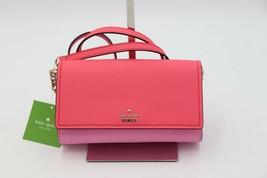 NWT Kate Spade Cameron Street Corin Pink Leather Crossbody Bag Wallet New - £98.81 GBP
