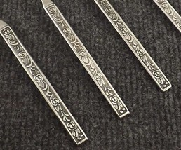 "National Stainless Costellano Set of 4 Teaspoons 6 3/8"" Korea-4 Sets Available - $13.95"