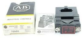 ALLEN BRADLEY 70A86 COIL 120V 60CY, 110V 50CY (IN BOX) image 1