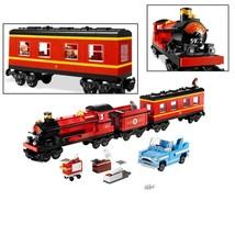 Harry Potter Hogwarts Magic Express Train Building Block Fit Lego Minifi... - $72.99