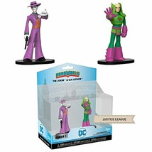 HEROWORLD The Joker & Lex Luthor Action Figures By Funko - $20.53
