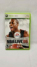 NBA Live 06 (Microsoft Xbox 360, 2005) Tested Working - $1.33