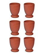Clay Glass kullad / khullad (Pack of 6) Special Offer tea coffee cup Ind... - $36.00
