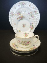 Vintage Minton Marlow Five Piece Place Setting - $28.49