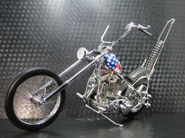 Harley Davidson Motorcycle w/ Easy Rider Bike Frame & Engine Motor Chopper READ - $2,498.00