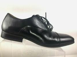 Florsheim Men's Oxfords Size 10.5 D Corbetta Captoe Black Leather Dress Shoes - $59.87