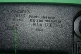 10-12 Ford Fusion Rear View Mirror w/ Camera Display & Compass 8U5A-17E678-DE image 5