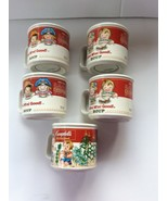 Set Of Five Westwood 1933 Decorative Campbell's Soup Cups  - $25.00