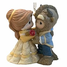 Christmas Ornament 2019 Year Dated Disney Beauty Belle and Beast Precious - $59.77