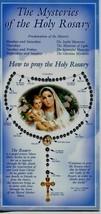 5 Mysteries of Holy Rosary - Item EB637 - Pamphlets Joyful Sorrowful Glo... - $4.99