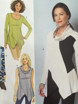 Butterick Sewing Pattern 6287 Misses/Ladies Tunic Size S-L New - $16.76
