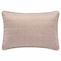 "Waterford Gwyneth Oblong Throw Pillow in Pink 12""x18"" Breakfast Lumbar P... - $52.35"
