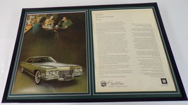 1971 Cadillac 12x18 Framed ORIGINAL Advertising Display - $65.09
