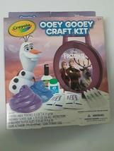 Crayola Frozen 2 Ooey Gooey Fun Craft Set Slime C4 - $9.90