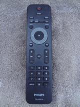 Philips Television Tv Remote Used Works Well Cl EAN Light Usage Only - $7.99