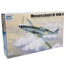 TRUMPETER 1/32 Messerschmitt Bf 109K-4 plastic model fighter - $82.12
