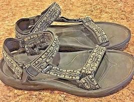 TEVA Terra  Mens Brown Tan Black Casual  Sports Sandals 12 - $38.58 CAD