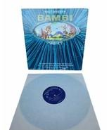 "Walt Disney Bambi 1962 Magic Mirror lp 33 rpm record book vinyl 12"" case... - $19.30"