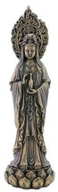 "7.5"" Avalokiteshvara Quan Yin Statue Sculpture Decor Eastern Kuan Guan Kwan - $37.68"