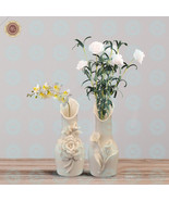 WR Special-shaped Rose Lily Flower Vase Good Home Decorating Ideas Gift - $15.00